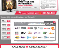DISH Plan Packages Website